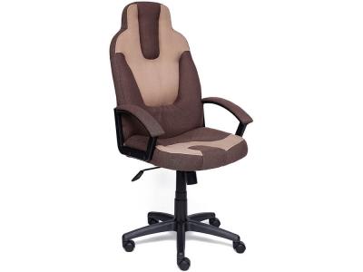 Кресло Neo-3 ткань Коричневый + Бежевый (26/13)