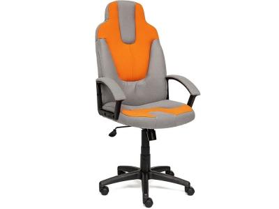 Кресло Neo-3 ткань Серый + Оранжевый (с27/с23)