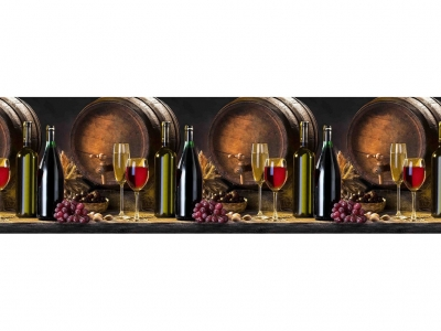 Фартук кухонный № 386 Вино