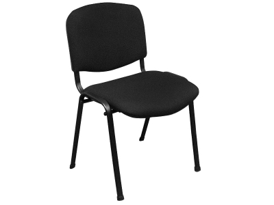 Офисный стул Изо черная ткань