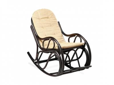 Кресло-качалка 05/04 с тонкой подушкой венге матовый