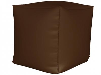 Пуфик Куб мини нейлон коричневый