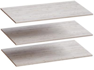 Комплект полок 3 шт для 4-дверного шкафа Соренто 1026х510х16 Дуб бонифаций
